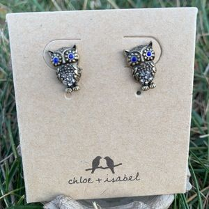 Chloe + Isabel Owl Stud Earrings